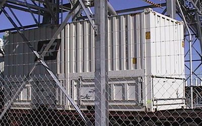 25 t Bulk Shipping Container