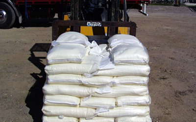 All smaller bags can be supplied in 1000 kg or 1200 kg lots on chep pallets.